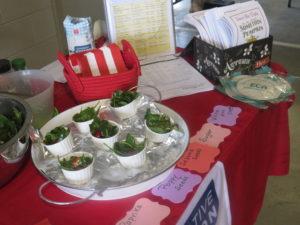 Cover photo for ECA Demos Seasonal Recipes at Gastonia Farmers Market