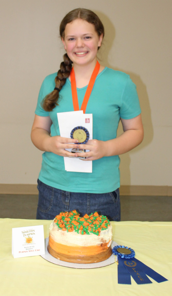 picture of grand prize winner of the fifth annual somethin' pumpkin cooking contest