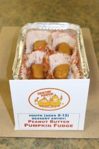 peanut butter pumpkin fudge youth desserts 8-12 k genovese