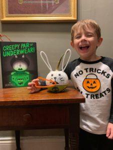 first place pumpkin decorating contest - Rhett Edwards winner