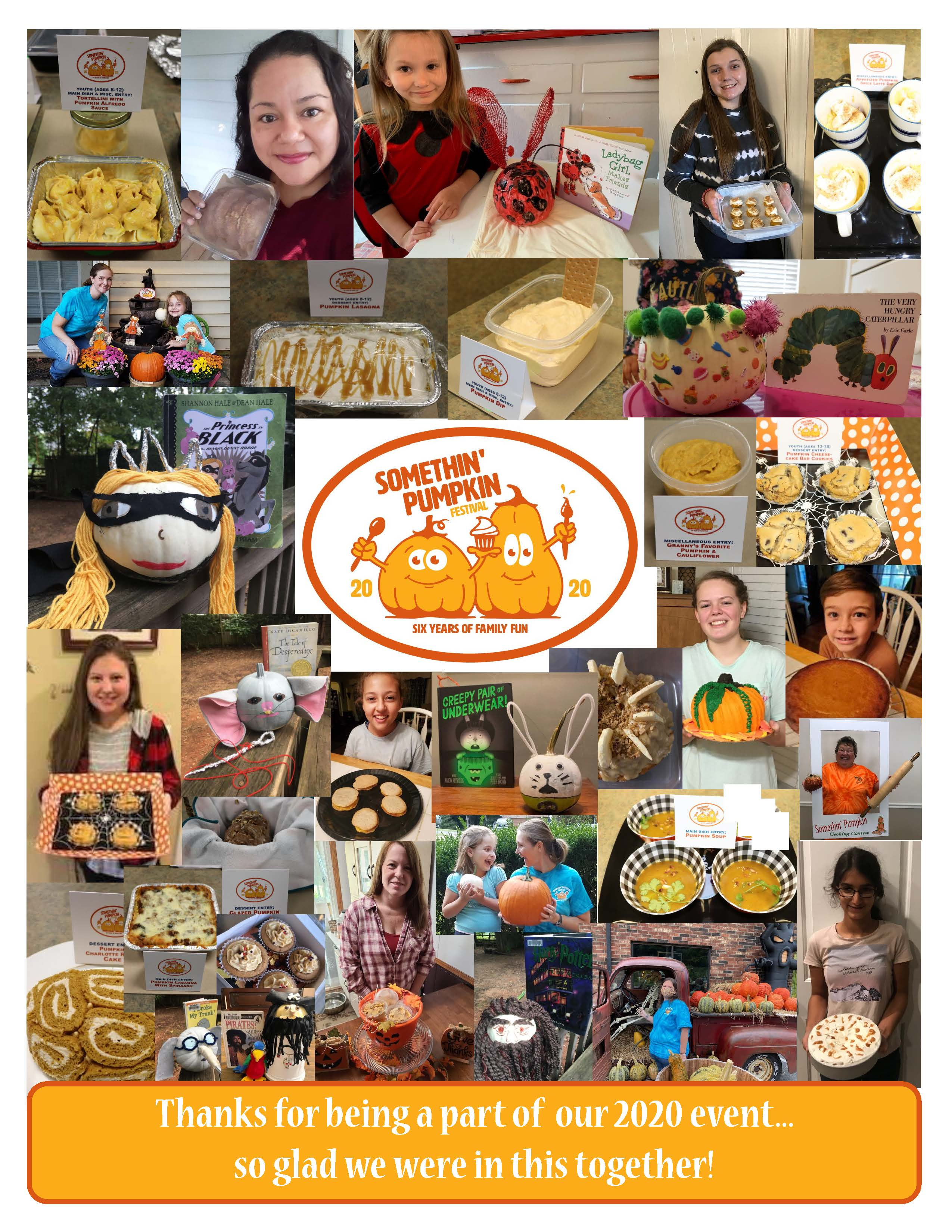 2020 Somethin' Pumpkin Photo Collage