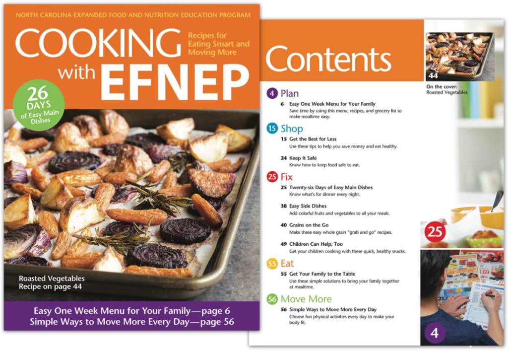 Cooking with EFNEP flyer