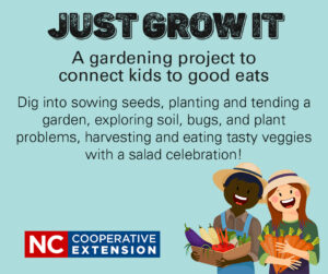 Cover photo for Just Grow It: Connecting Kids to Good Eats