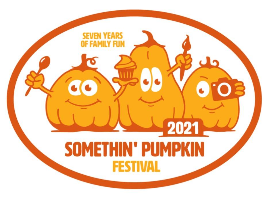somethin' pumpkin 2021 logo