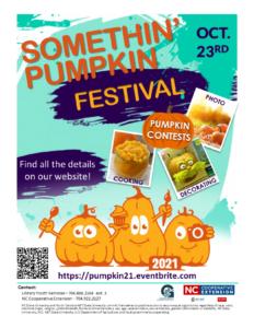 Somethin' Pumpkin Festival Poster